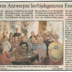 Kinderen leren Antwerpse leeftijdsgenoten Ensor kennen