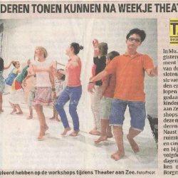 Kinderen tonen kunnen na een weekje Theater Aan Zee