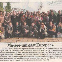 mu-zee-um gaat Europees